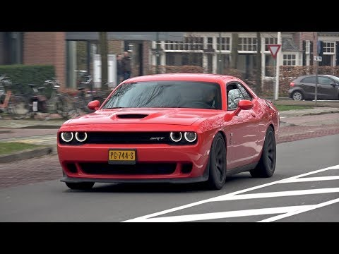 Dodge Challenger SRT-8 Hellcat – BURNOUT, REVS, ACCELERATIONS!