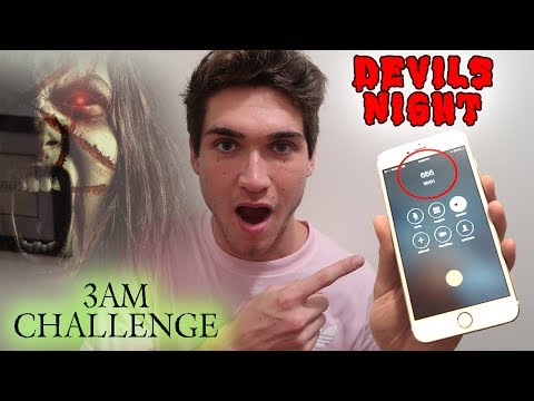 Thumbnail: (CALLING THE DEVIL) CALLING 666 AT 3AM // 3AM CHALLENGE CONTACTING THE DEVIL (SUMMONING ZOZO)