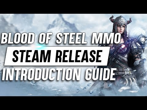 Blood Of Steel Action MMO ► Steam Release Introduction Guide (Game Mechanics, Combat, Monetization)