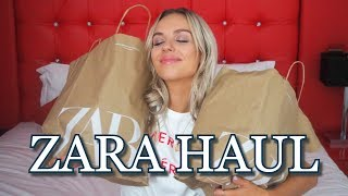 ZARA HAUL AND TRY ON | 2019