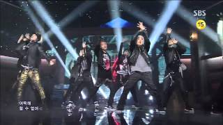 [130224] SPEED - PAIN The Love Of Heart @ SBS Inkigayo