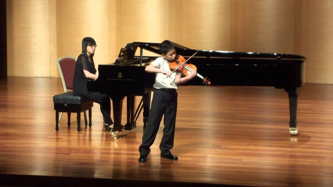 【2014文化盃音樂比賽】北區小提琴五年級組第一名---賴奕慈 - YouTube