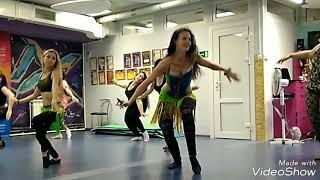 Восточный танец! Урок. Красивая секси связка. Самара. Танцы. Школа Джамила