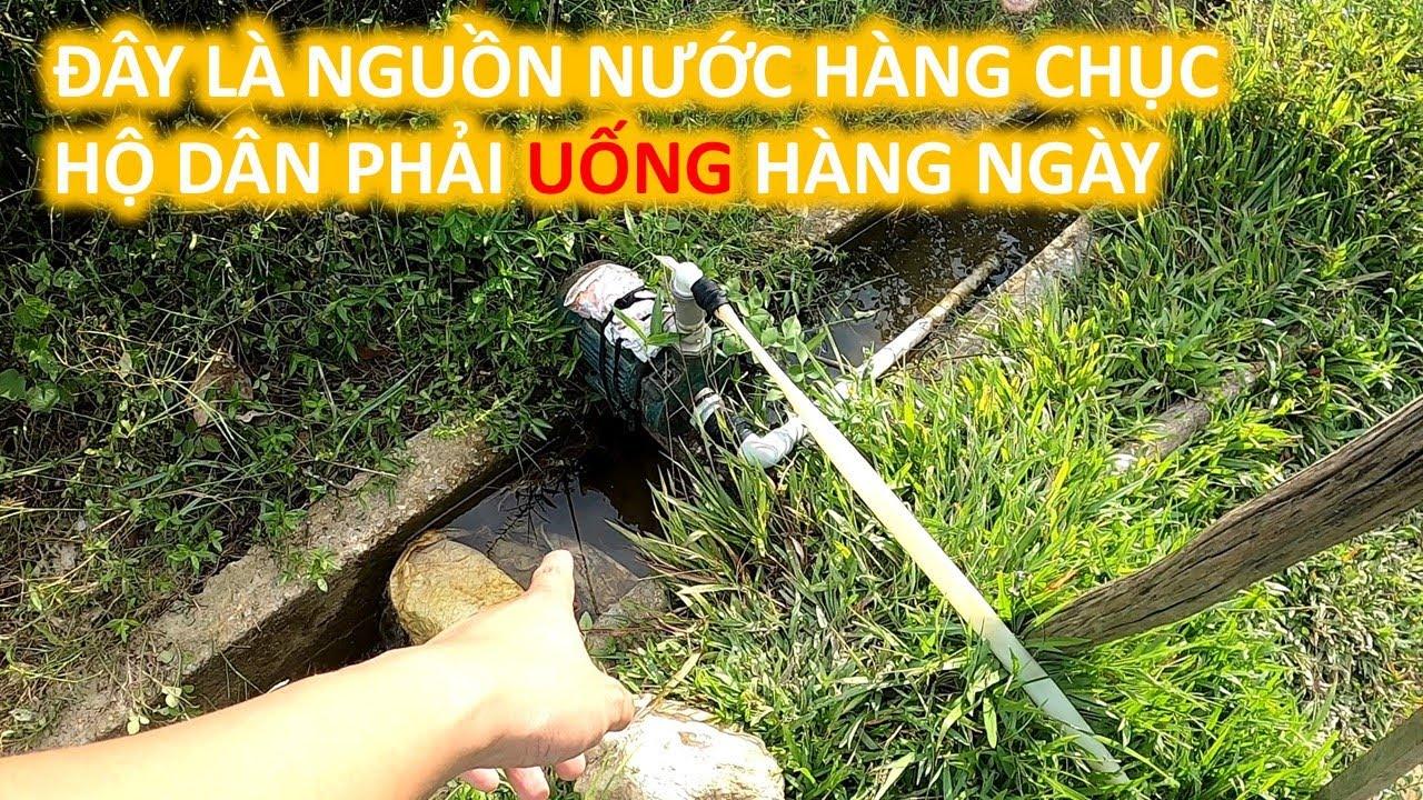 Bà Con Xã Thượng Quảng Hàng Ngày Phải Uống Nước Mương Độc Hại, Chuẩn Bị Được Khoang Giếng Sâu 40m
