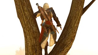 Assassin's Creed 3 Remastered No Hud Parkour & Exploration with Edward`s Outfit Ultra Settings