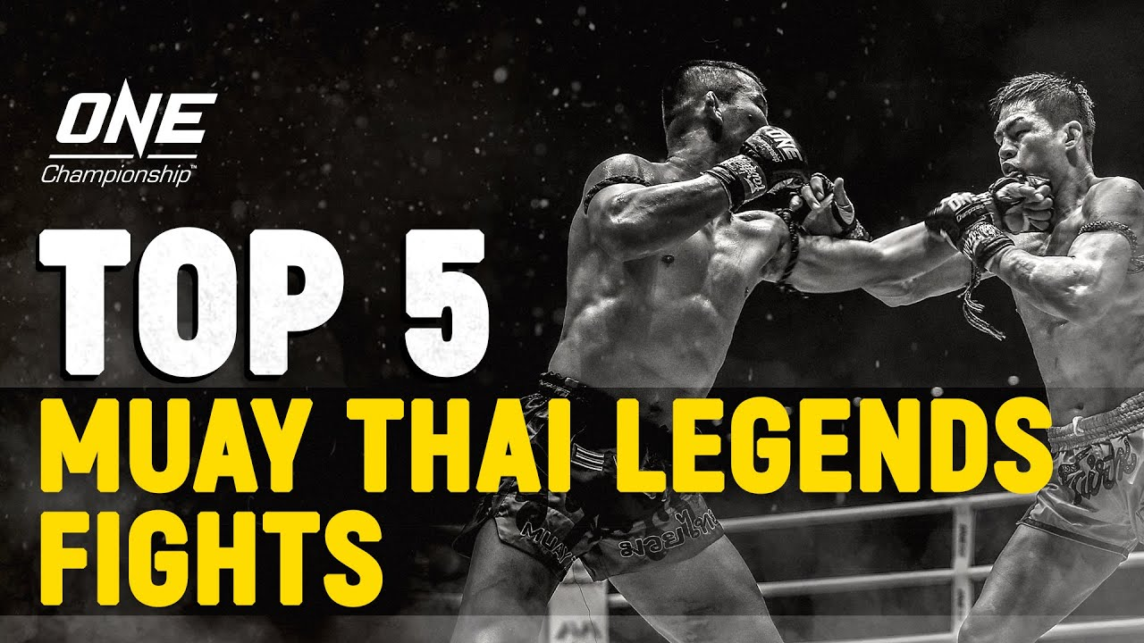 Top 5 Muay Thai Legends Fights In ONE Championship