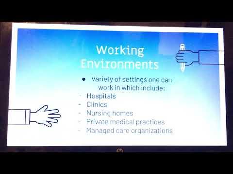 Health care administrator presentation