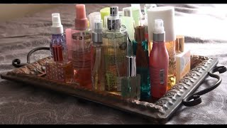 Entire Fragrance Collection Part 1: Body Mists