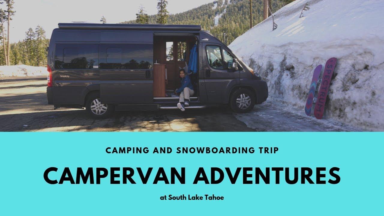 ทริปรถบ้านแคมเป้อแวน ไปเล่นสโนว์บอร์ด: A Campervan Snowboarding Adventure
