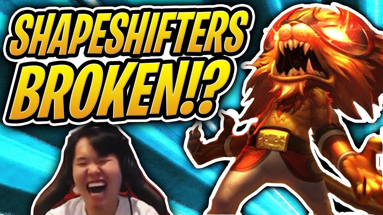SHAPESHIFTERS ARE SO *BROKEN* | Demon + Shapeshifter Comp | Teamfight  Tactics | TFT | LoL Auto Chess