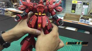 Sazabi Ver Ka MG 1/100 Gunpla Revie...