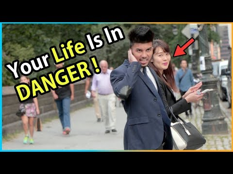 YOUR LIFE IS IN DANGER !!