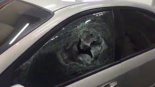 Защитная плёнка  на стекла авто  Реальное испытание(, 2016-05-03T10:06:17.000Z)
