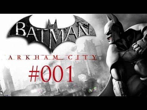 Let's Play Batman: Arkham City #001 [Deutsch / HD / PC] - Verhaftet !