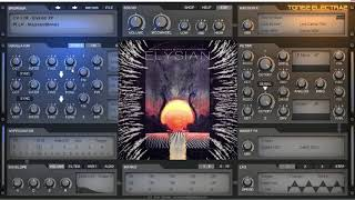ElectraX Preset Bank Preview Elysian XP and Drum Kit | 60 Presets