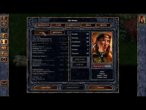 Baldur's Gate Enhanced Edition (BGEE) - Aec'Letec One-shot Detailed Explanation (Core Rules) |