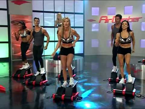 Air Climber Burn and Firm Workout with Brenda DyGraf