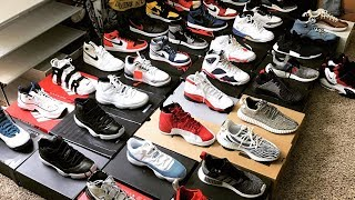 LUCKY 13 YEAR OLD KID WTH HYPE SNEAKER COLLECTION