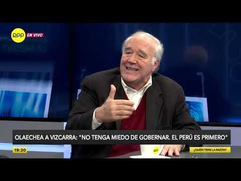 García Belaúnde: 'El presidente se mete todos los días con el Parlamento'