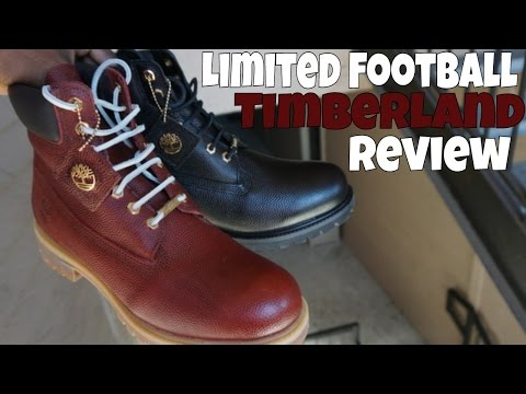 finest selection f5898 4122b LIMITED FOOTBALL TIMBERLANDS (MUST SEE)
