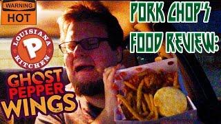 Pork Chop's Food Review: Popeyes' Ghost Pepper Wings