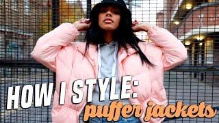 WINTER LOOKBOOK | 3 WAYS TO STYLE: PUFFER JACKETS  | Tasha Green