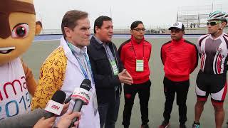 Lima 2019 entregó las sedes de Patinaje de velocidad y voley playa