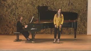 R. Schumann - Liebeslied Op.51 No.5 (Céline Akçağ, Rebeka Stojkoska)