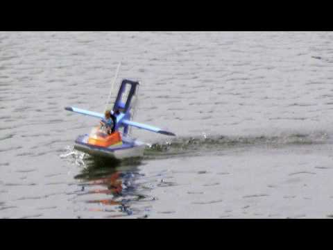 electric RC airboat EB1 - YouTube