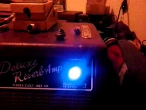 Light Fender Amplifier Jewel Style Lamp COLOR WHITE