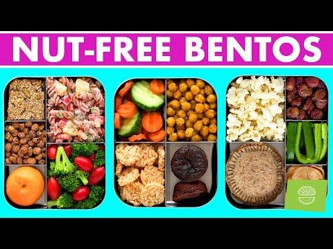 Vegan Bento Boxes! Nut Free & Gluten Free Back to School Recipes!