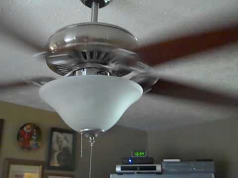 60 Quot Harbor Breeze Glenwood Ceiling Fan Youtube