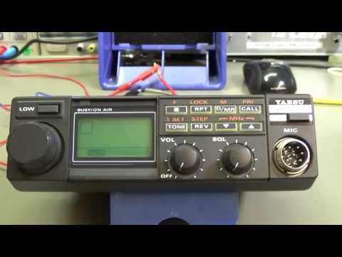 #140 Reparing a YAESU FT-2311R  23cm radio with weak receive