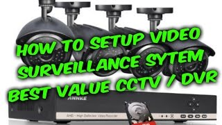 How to setup video surveillance CCTV DVR system guide, Annke 8ch camera DVR review(How to setup video surveillance CCTV DVR Annke system guide, I will show some tips and tricks installing CCTV DVR system, interested in Annke system- ..., 2016-02-21T08:00:29.000Z)