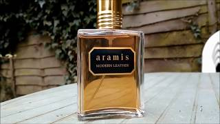 A review of Modern Leather edp by Aramis