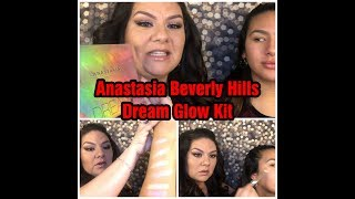 ANASTASIA BEVERLY HILLS DREAM GLOW KIT REVIEW & SWATCHES 🤩