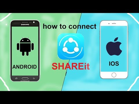 How To Transfer File Android To Iphone | Share Data Ios To Android | Use Shareit On Iphone In Bangla