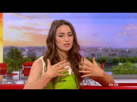 Sara Bareilles Interview BBC Breakfast 2014