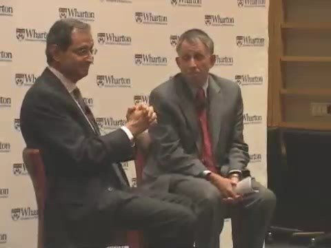 Citi CEO Vikram Pandit Sees a Difficult Recovery Ahead