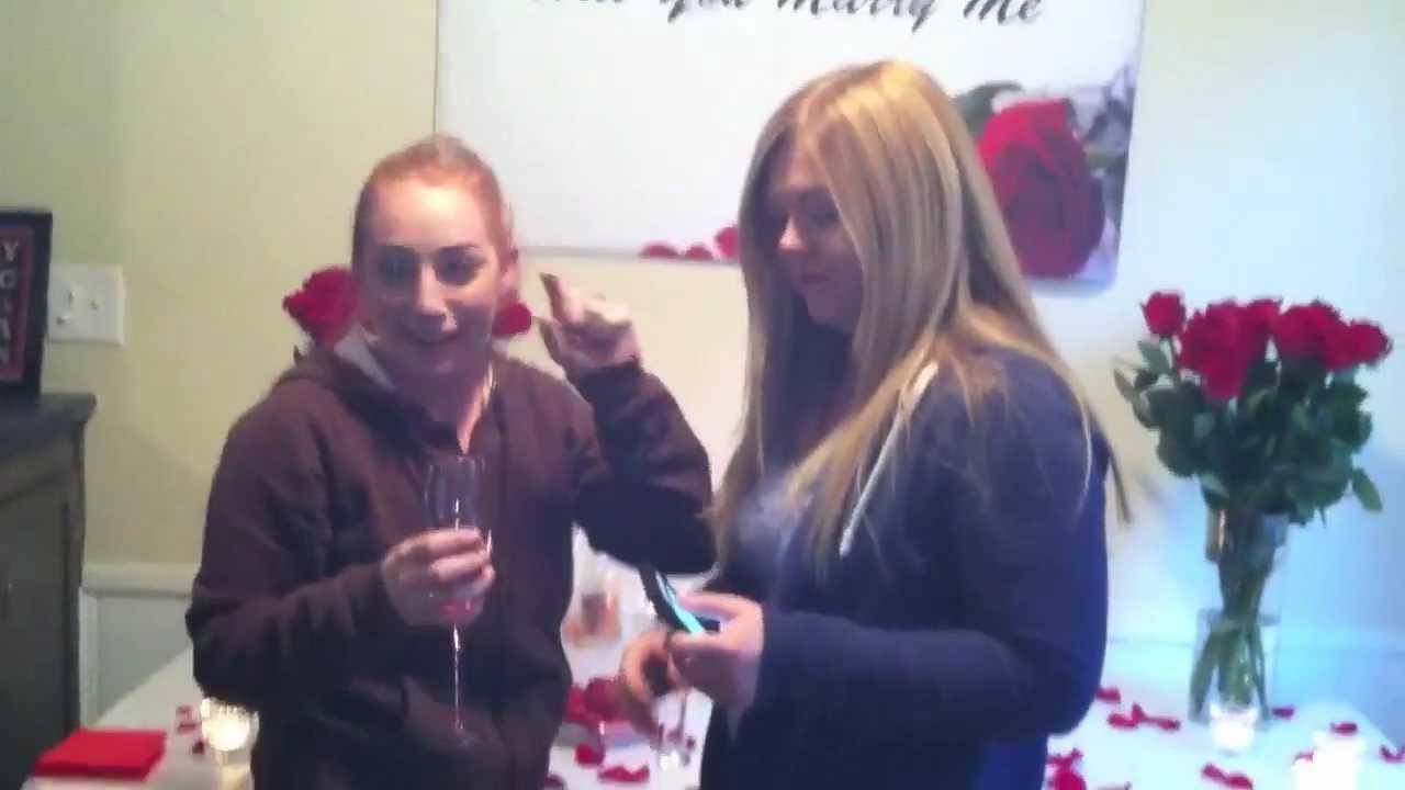 Best Lesbian Proposal Ever