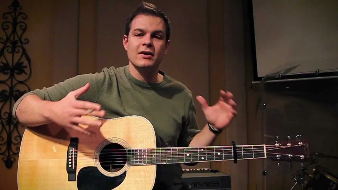 Blessed Be Your Name Matt Redman Tutorial With Chord Chart Youtube