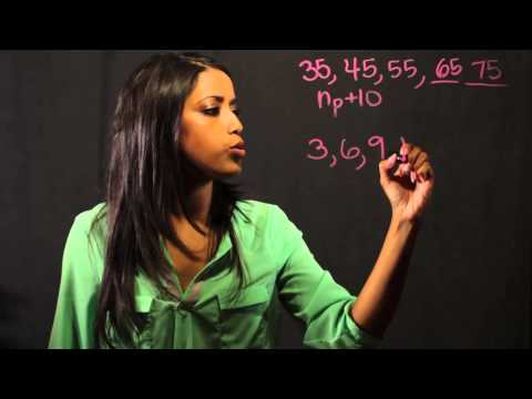 How to Teach Number Strings in Math : Math Fundamentals