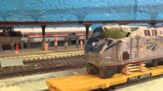 HO Scale Amtrak Trains