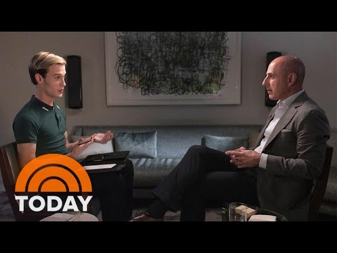 Hollywood Medium Tyler Henry Gives Matt Lauer An Emotional Reading