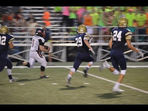 9/22/2017 - Bryce Allen Wilson - Junior Fullback - vs Quincy Notre Dame Highlights - Class of 2019
