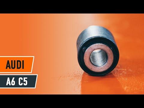 Cum se schimba bucșă braț silentblock la AUDI A6 C5 Tutorial | Autodoc