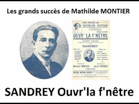 Sandrey ouvre la fen tre 1930 youtube for Ouvre la fenetre