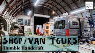 Humble Handcraft - 2 Van Builds, Top Craftsmanship, Antique Tools
