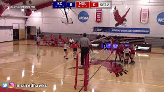 Montclair State Volleyball Highlights vs. Keystone - 9/27/18