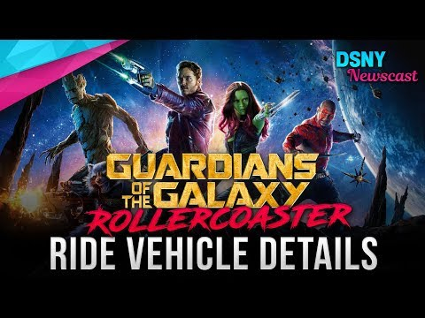 ROLLERCOASTER Vehicle Details For Guardians of the Galaxy coming to Epcot - Disney News - 10/23/18